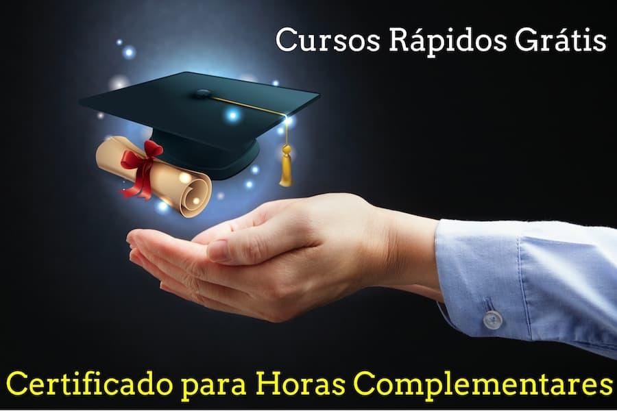 Horas Complementares Cursos Online Gratis Com Certificado