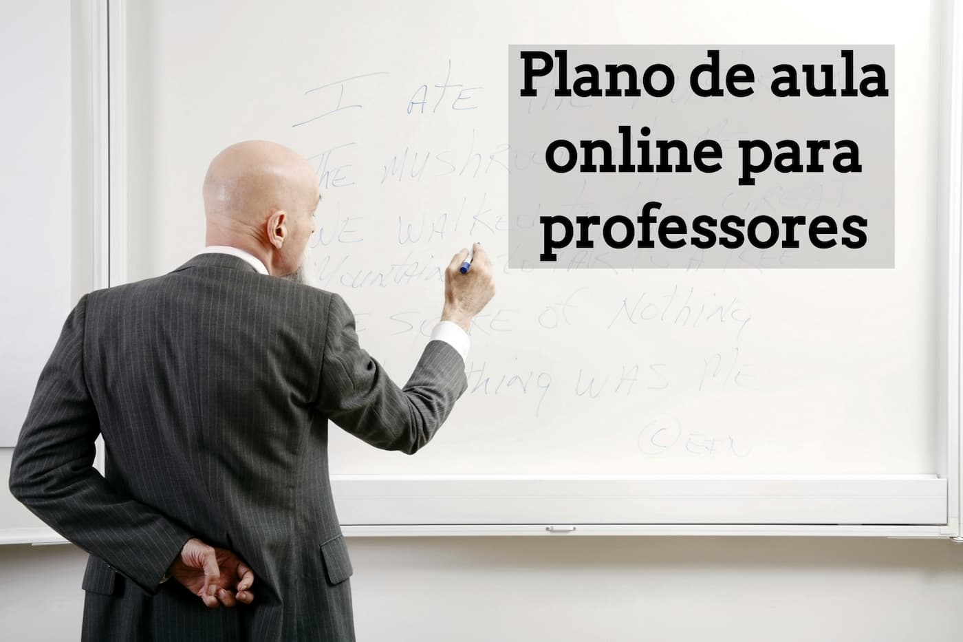 Plano de aula online para professores